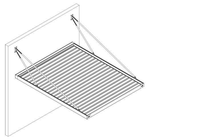 pergola bioclimatica cu lamele de aluminiu