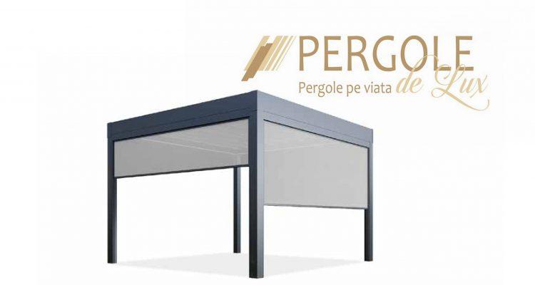 Sisteme De Umbrire Pentru Terase. Zipscreen Pergole De Lux