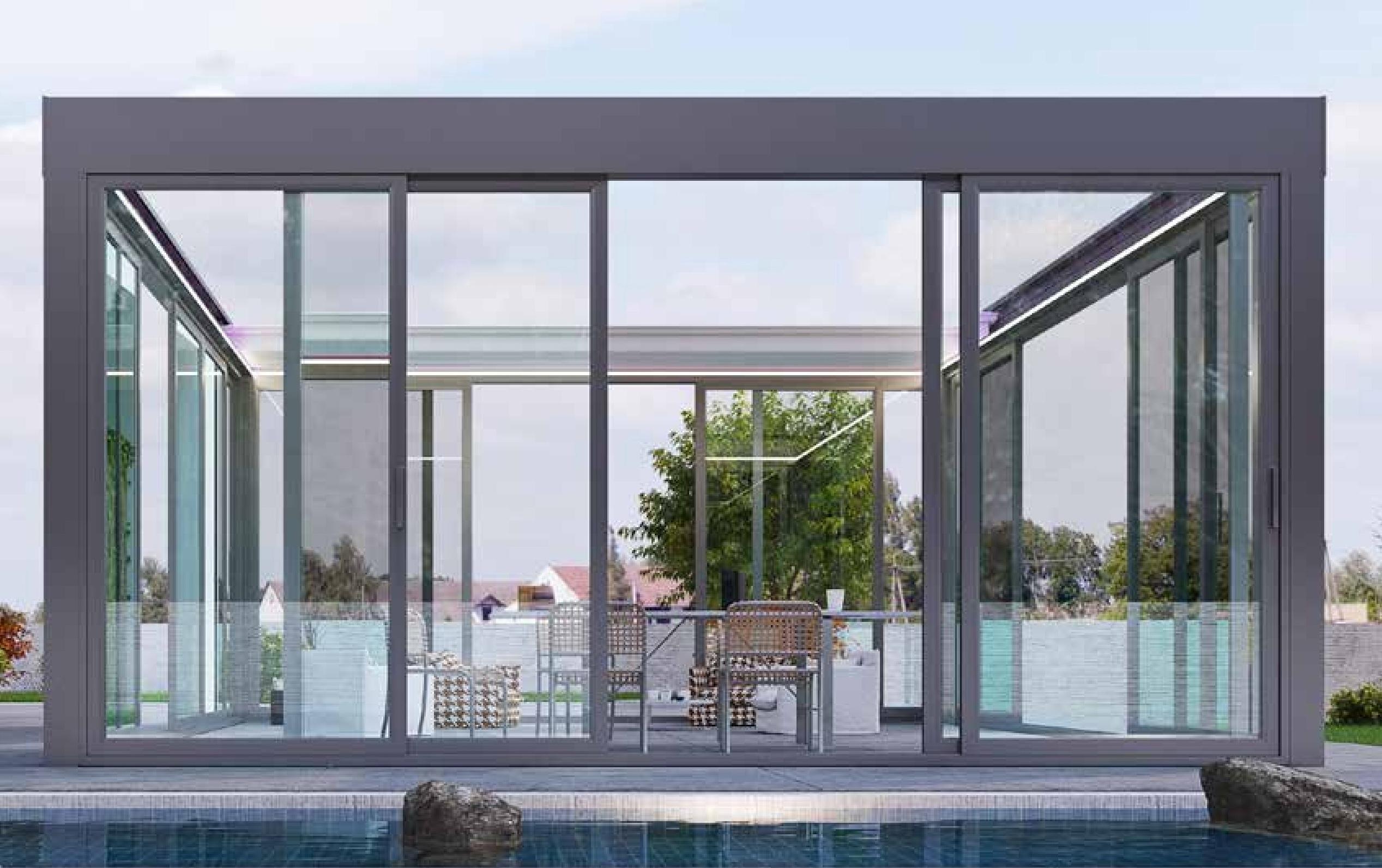 Pergole Retractabile De Lux Moderne, Ca Accesorii Pentru Terase Moderne!