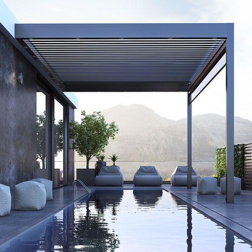 pergola bioclimatica pentru piscina.pergole de lux. Cum poți folosi o pergolă bioclimatică