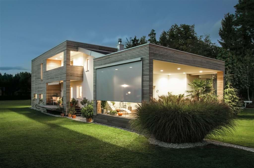 Sistem de umbrire Zipscreen pentru terasa. Sistemele de umbrire - design și utilitate