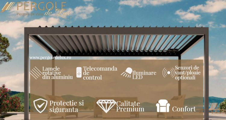 Beneficii Pergola Bioclimatica Pergole De Lux Romania. Tehnologia Pergole De Lux