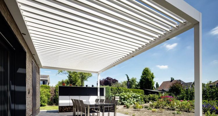 Pergole De Lux Pentru Primaveri Cu Soare. Pergole Bioclimatica