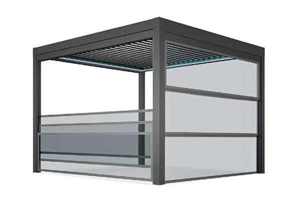 Arhitectura viitorului este sticla. geamuri batante terasă
